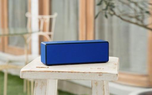 索尼SRS-X33蓝牙音箱:支持LDAC无损音乐传输,低频强劲有力
