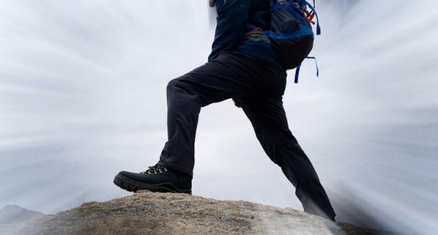 零磨合上脚登山实测,斯丽德防水登山中帮鞋