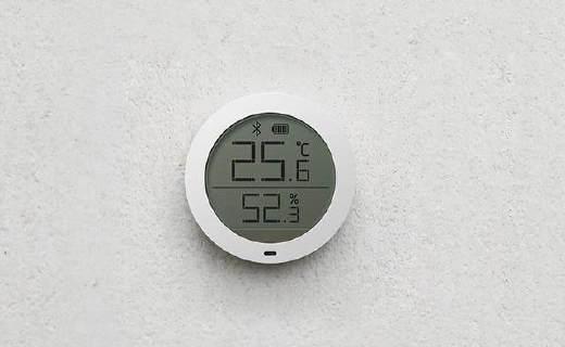 米家蓝牙温湿度计,能替你掌控空调加湿器!