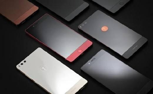 坚果 pro 细红线特别版:金属拼接设计质感十足,1080p屏幕性能出众