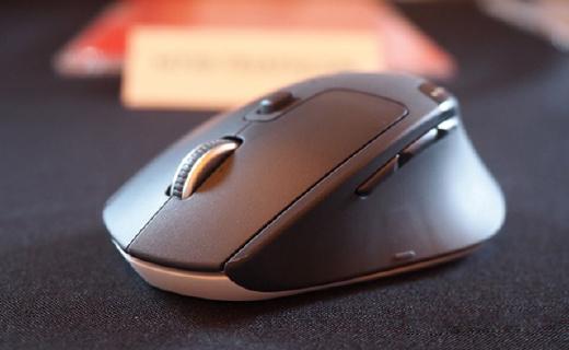 罗技新款办公鼠标,同时连3个设备一键切换