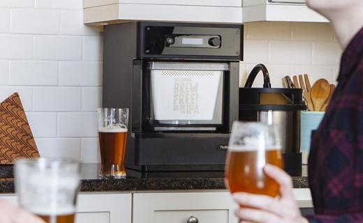 仅咖啡机大的啤酒酿造机,在家轻松自制精酿啤酒