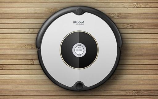 iRobot Roomba601扫地机器人:交叉式清扫无遗漏,防悬空跌落
