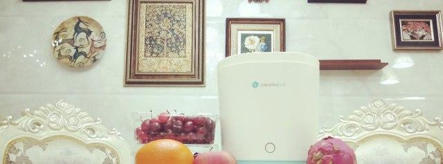 用小荷超声波清洗机,吃最干净的水果