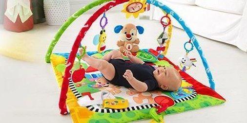 费雪 FFX82 婴幼学习健身器:科学带动宝宝玩耍中学习,成长阶段宝妈不操心