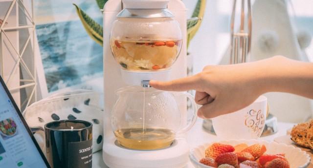 懒人福利!有了它你会爱上喝茶——鸣盏茶饮茶机MZ-1151