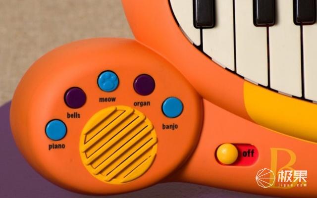 B.toys大嘴猫咪儿童电子琴