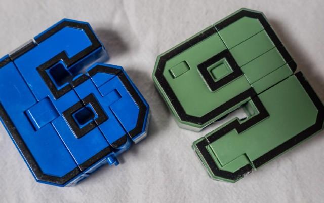 認識這個玩具的都當爹了吧:數字變形玩具曬單