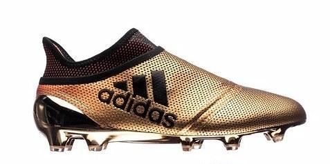 亮眼鎏金!阿迪达斯X17+Purespeed足球鞋全新配色
