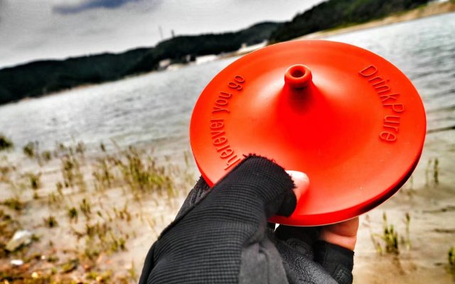 贴身净水装备,野外求生利器——drink pure丨视频