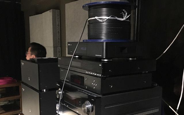 JVC 4K UHD激光投影机实测120米开博尔光纤HDMI线2.0版