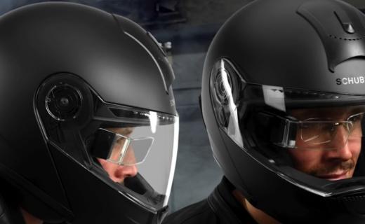 为摩托车头盔设计的HUD 让你骑摩托也能骑出科幻感