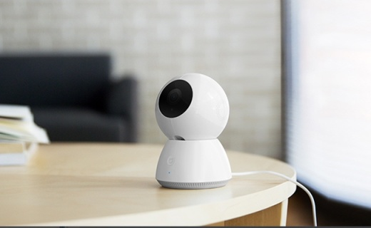 小米智能摄像头:1080P记录支持红外夜视,双向语音互动