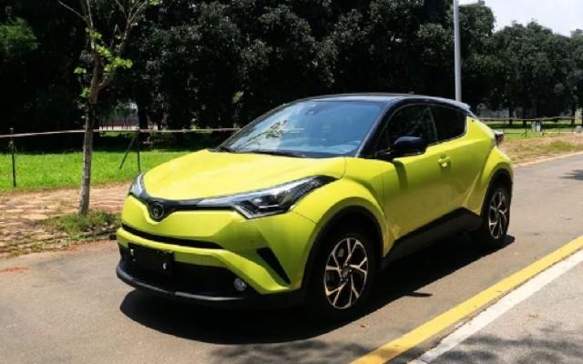 试驾广汽丰田C-HR,外观风骚 动力充沛,低成本撩妹就它了