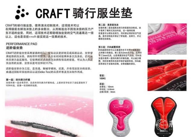 CRAFT1902616背带骑行短裤