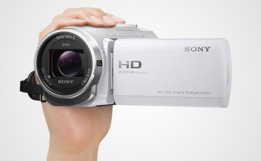 拍孩子神器,Sony新品摄像机,五轴防抖大变焦