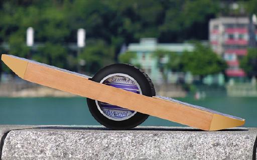 征服了这个独轮怪兽,那就没有不会玩的滑板了