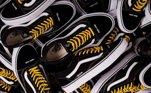Vans又推定制款,黑白配色经典Old Skool风格