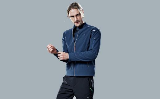 凯乐石外套:复合梭织面料防水防静电,内里抓绒保暖御寒