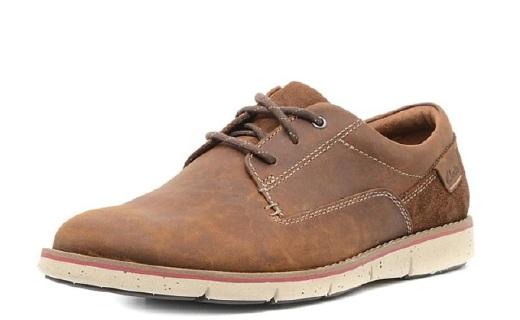 其乐英伦男士休闲鞋:牛皮材质柔软透气,经典款式时尚百搭