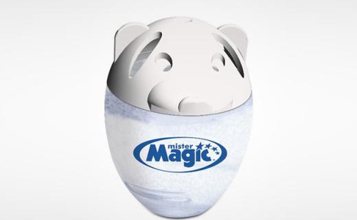魔法大师冰箱除味彩蛋:吸附异味减少细菌,Q萌造型让冰箱干净清新