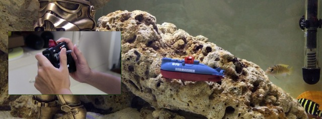 拇指大小的世界最小潜水艇,快来一起下水开趴 | 视频
