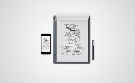 Wacom手绘板,让你一边画一边转换成文档