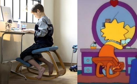《辛普森一家》同款座椅,坐姿奇葩却能保护脊椎
