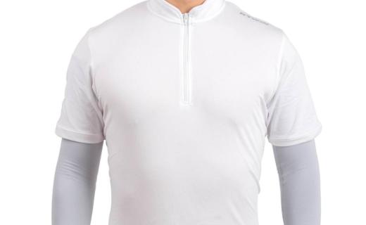 迪卡侬骑行防晒袖套:轻盈弹性臂袖,舒适配戴排汗防晒