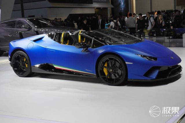 北京车展|兰博基尼HuracanPerformante敞篷版:3.1秒破百