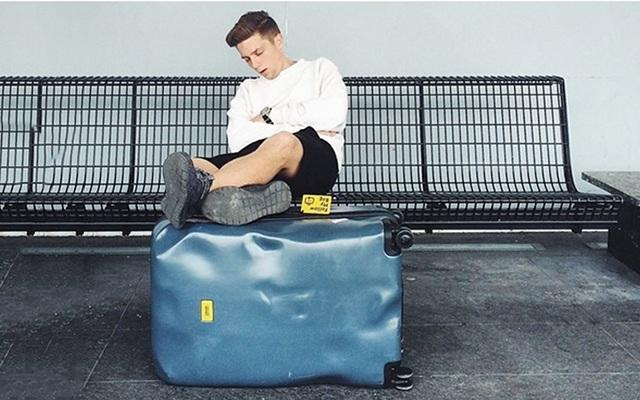 意大利Crash Baggage破损旅行箱