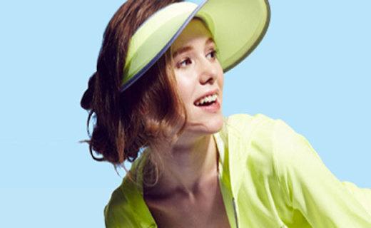 HOII伸缩遮阳防晒帽:双重凉感技术,越晒越凉快