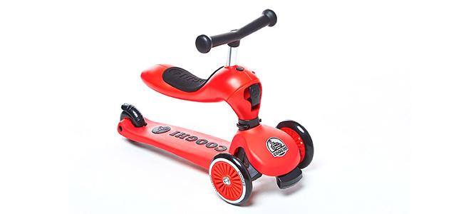 """儿童滑板车中的""""变形金刚"""",能滑还能骑 — 酷骑儿童滑板车测评"""