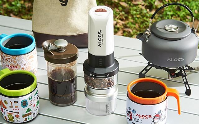 爱路客户外魔咖2电动咖啡机套装
