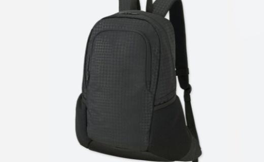 优衣库SPRZ NY运动背包:网眼布设计舒适不闷,时尚造型百搭出行