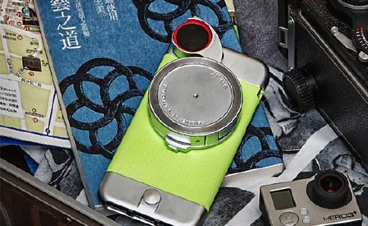 Ztylus多功能手机壳:4种镜头集合一体,拍摄方便有趣