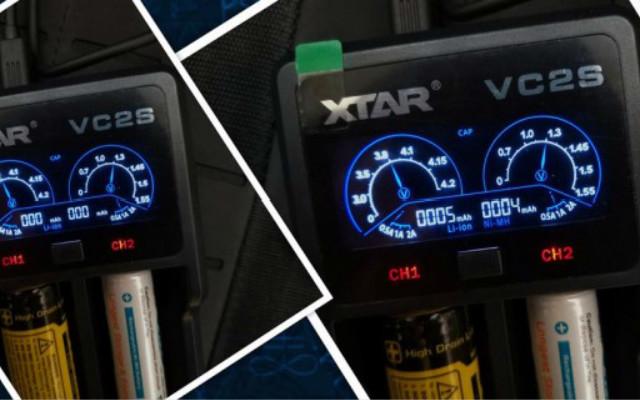 肉眼可见的真电池充电,XTAR VC2S智能充电器体验