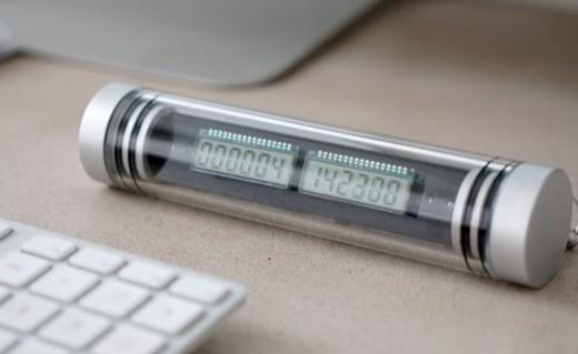 造型奇葩能记2740年的电子时钟,留得住永恒么?