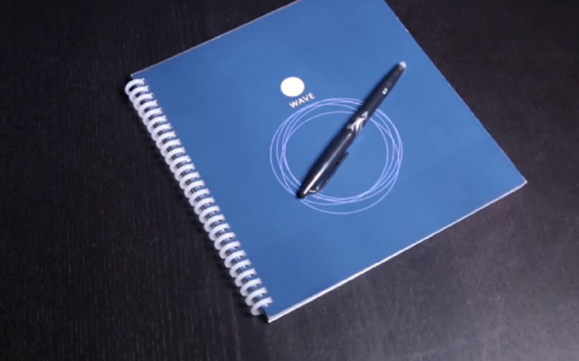 能用一辈子的神奇笔记本,吹吹风就让字迹消失