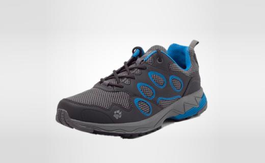 Jack Wolfskin越野跑鞋:防水透气超轻量,厚实大底耐磨防滑