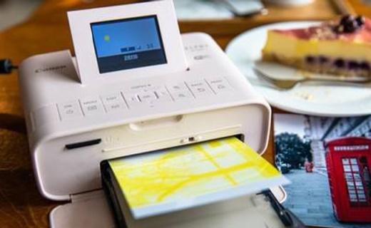 佳能CP1200照片打印机:无线彩色打印,小巧便携超强续航能力