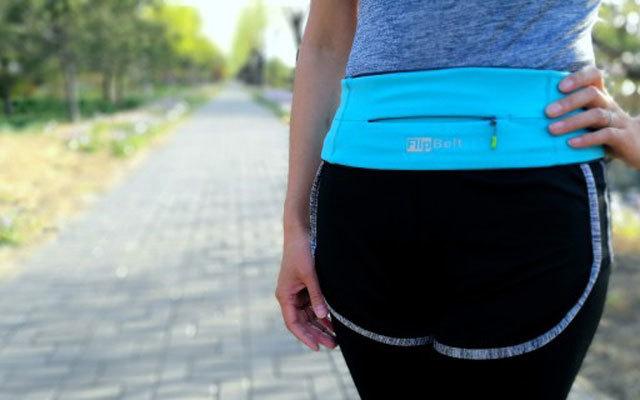 佩戴舒适 解放双手,让你尽情健身运动  — FlipBelt 跑步运动腰带测评