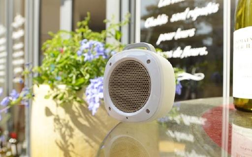 Divoom Airbeat-10音箱:橡胶机身耐磕碰,防水防尘超便携