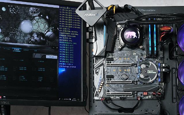 实测9900k与9700k的差距,再了解下超频大赛