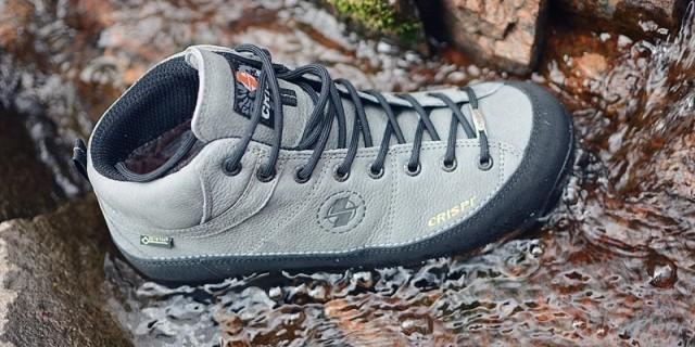 真皮材质 抗磨耐操,这鞋你能走破算我输 — CRISPI MONACO GTX户外徒步鞋