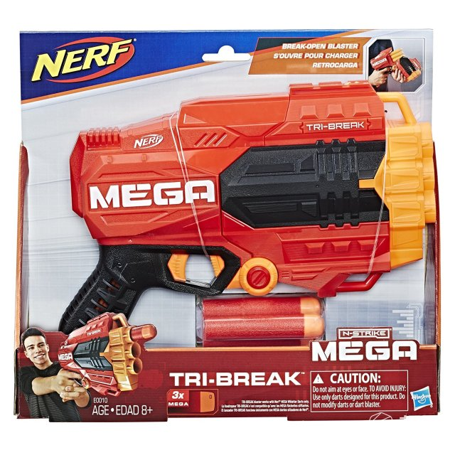 NerfE0010tri-break三重发射器