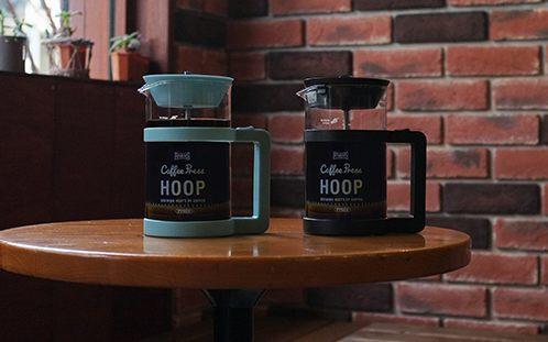RiversHoop法压壶:德国高耐热玻璃瓶身,过滤装置免滤纸