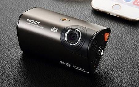 飞利浦CVR500行车记录仪:1080触摸大屏8小时循环录像,自驾游必备