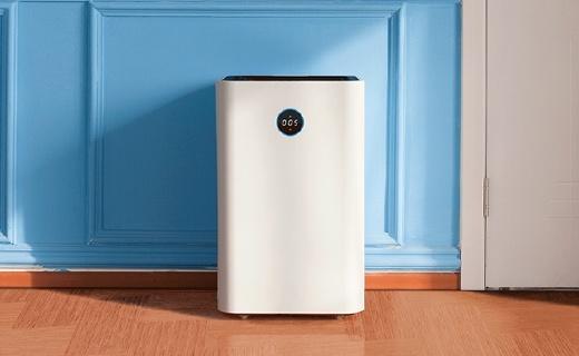 双通道双滤网空气净化器,超强性能噪声低