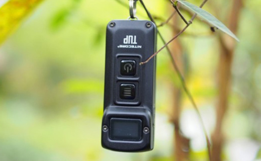 不明则已一明惊人---奈特科尔 TUP钥匙手电开箱体验